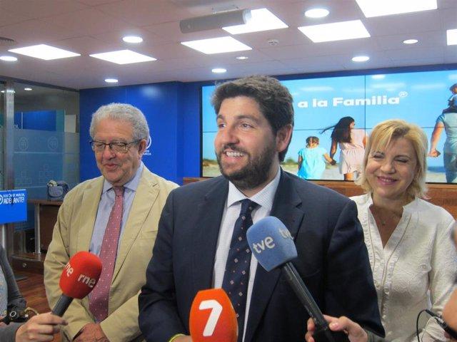 López Miras recuerda que ya se ha archivado denuncias a los médicos que advierten negligencias en operaciones de corazón