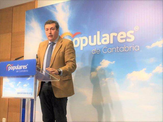 """PP reclama a Revilla que """"tome partido"""" por algunas de las ofertas que hay por Sidenor antes del 26M"""