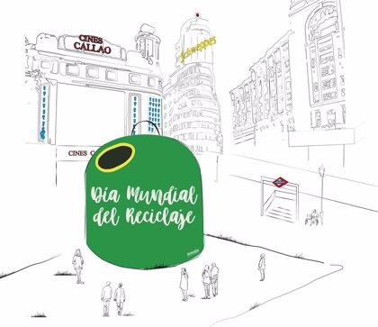 Un contenedor gigante lucirá en Callao este fin de semana para concienciar sobre el reciclaje de vidrio