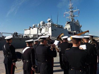 El Gobierno retira la fragata 'Méndez Núñez', con base en Ferrol, de un ejercicio con EE.UU.