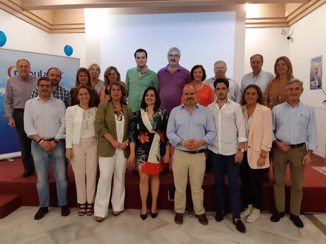 """Sevilla.-26M.-Virginia Pérez urge un """"cambio de rumbo"""" en Osuna con la """"garantía"""" del PP ante las cifras de paro locales"""