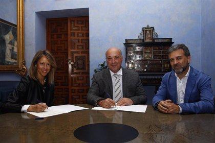 La Diputación de Córdoba y Vinavin renuevan su compromiso para la promoción de vinos y vinagres de la provincia