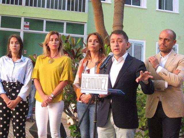 26M.- Bermúdez Propone Un Plan De Aparcamientos Públicos Y Gratuitos En Cabo Llanos