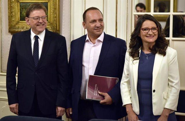 Primer encuentro a tres en Valencia para cerrar el nuevo Pacte del Botànic