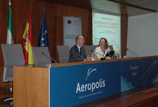 Junta y Ministerio de Defensa amplían su colaboración para impulsar la industria de la defensa en Andalucía