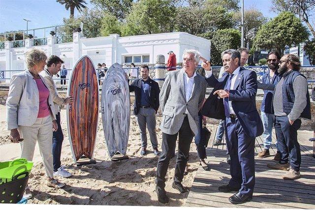 26M.- PRC Quiere Crear La Marca 'Surf Cantabria' Y Pedir Cesión Del Edificio Rema Para Crear Un Centro Multifuncional