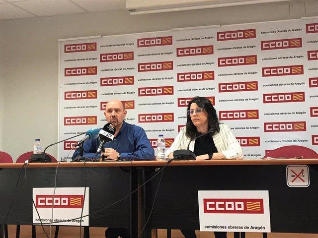26M.- CCOO Aragón Pide Que La Mayoría Social Vote A Partidos Que Recojan Las 67 Propuestas Del Sindicato