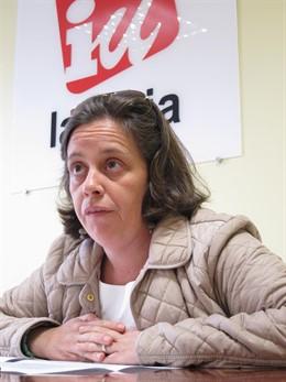 Henar Moreno, Coordinadora General De IU En La Rioja