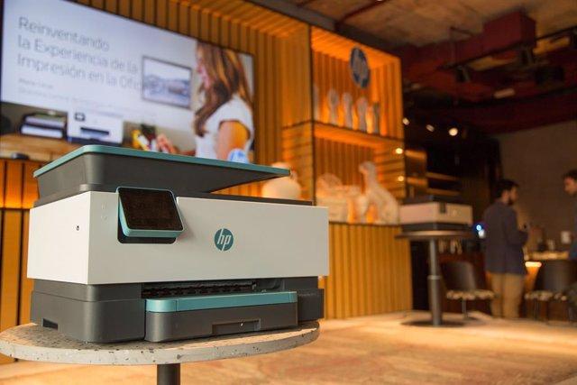 HP presenta su nueva gama de impresoras OfficeJet Pro diseñada para pymes