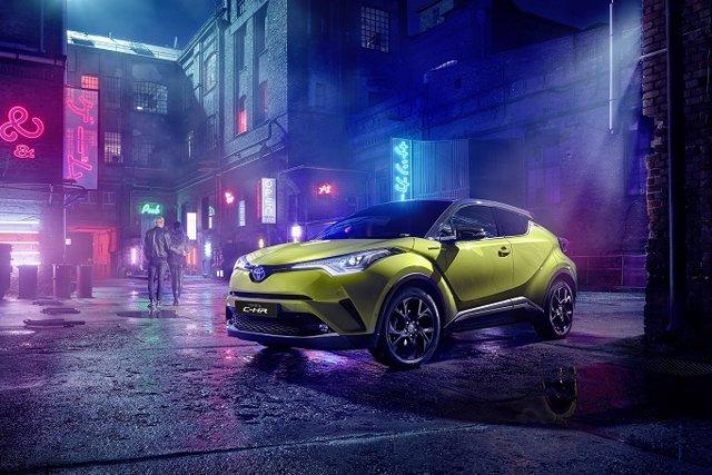 Economía/Motor.- Toyota lanza en España el nuevo C-HR Limited Edition Amarillo Wasabi, limitado a 150 unidades
