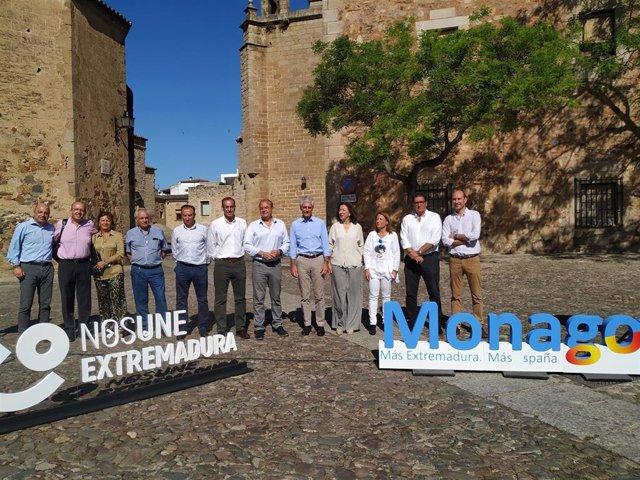 """26M.- Monago Llevará A Cabo Una OPE Para Consolidar A Los Profesionales Del SES Y Un """"Plan De Rescate"""" De Los Mismos"""