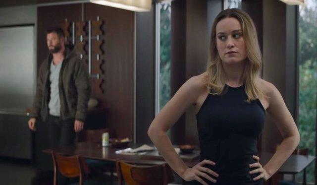 Así es el nuevo traje de Capitana Marvel en Vengadores: Endgame
