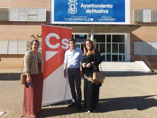 """Huelva.- 26M.- Cs propone crear ocho Foros Ciudadanos que decidan sobre sus distritos """"descentralizando el Ayuntamiento"""""""
