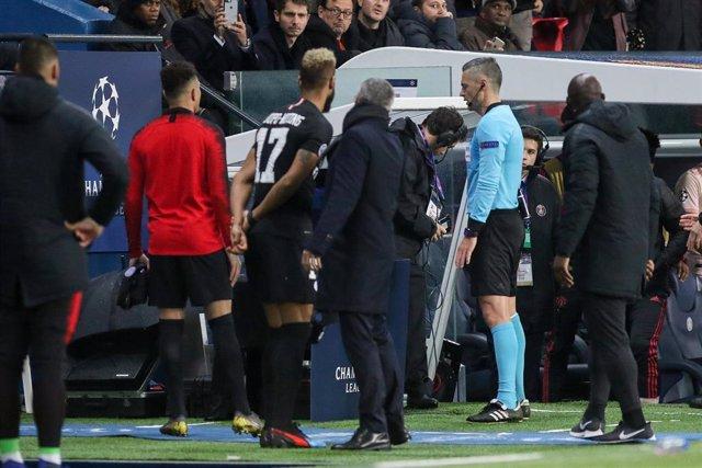 FOOTBALL - UEFA CHAMPIONS LEAGUE - 1/8 - PARIS SG v MANCHESTER UNITED