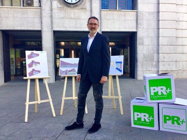 26M.- Antoñanzas Propone Un Centro Deportivo Y Otro Para Personas Mayores En La Actual Estación De Autobuses