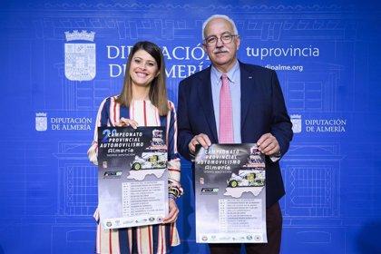Diputación calienta motores para celebrar el Campeonato Provincial de Automovilismo