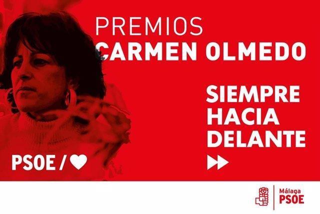 Málaga.- Rodríguez Zapatero recibe el jueves el premio honorífico Carmen Olmedo por su defensa de la igualdad