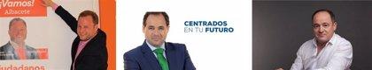 Núñez, Sáez y Casañ bromean sobre el abuso del Photoshop en su propaganda electoral