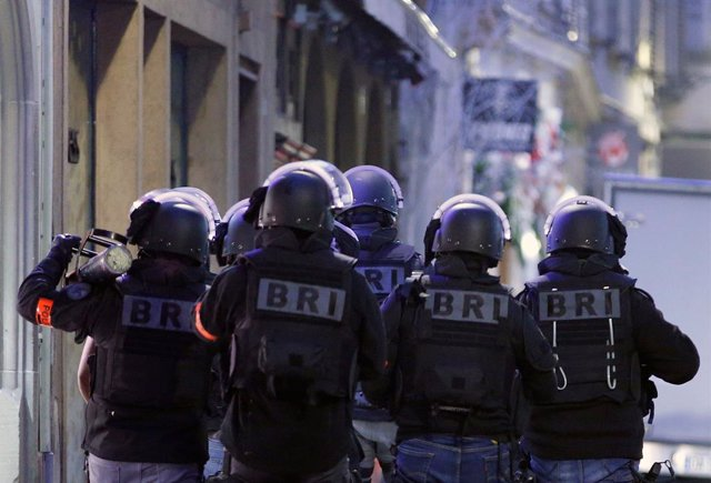 Francia.- Detenidas cinco personas por sus vínculos con el atentado de diciembre en Estrasburgo