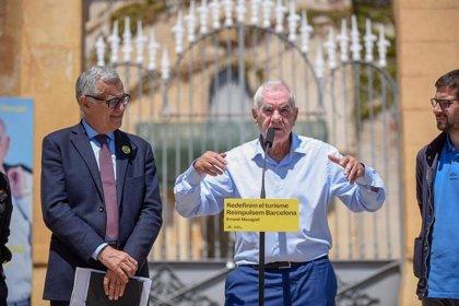 """Maragall propone una nueva tasa turística de ciudad que podría llegar """"hasta los 10 euros"""""""