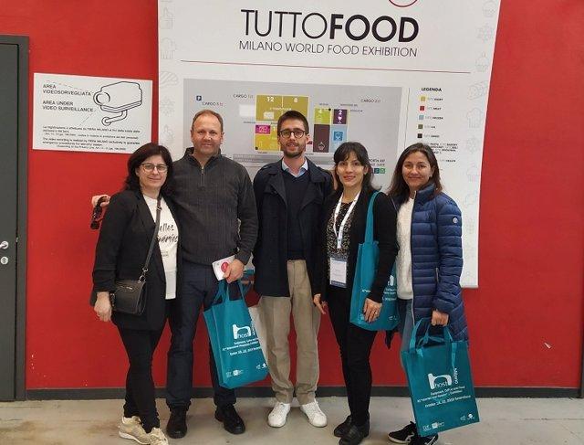 El sector agroalimentario de Cantabria presente en la Feria TuttoFood de Italia
