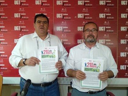 """CCOO y UGT justifican las movilizaciones convocadas en las provincias para """"exigir la dignificación"""" del campo andaluz"""