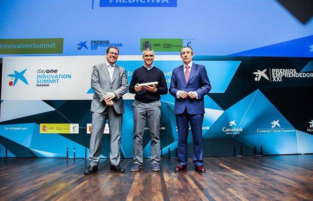 """Málaga.- Predictiva gana el Premio EmprendedorXXI a la mejor """"start-up"""" del sector financiero de España y Portugal"""