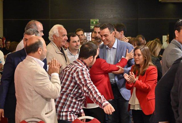 Acto do PSOE na Coruña