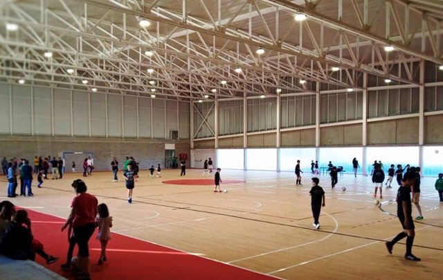 Comienzan los primeros entrenamientos en el nuevo pabellón de Son Ferragut