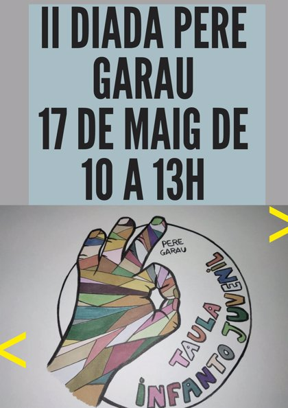 Els integrants de la Mesa de la Infància de Pedro Garau donen a conèixer aquest divendres el seu treball en una 'Diada'