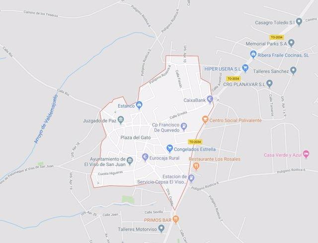 Sucesos.- Herida grave una menor de 14 años tras ser atropellada en El Viso de San Juan (Toledo)