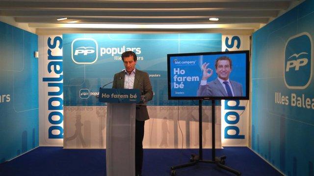 """AMP.- Company presenta la campanya 'Ho farem bé' i demana disculpes als votants del PP per """"els errors comesos"""""""