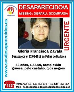 Sucesos.- Buscan a una mujer de 56 años desaparecida en Palma desde el domingo
