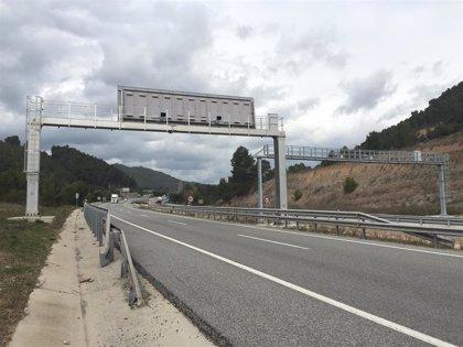 Trànsit activa el jueves dos radares de tramo en la A-2 entre Jorba y Argençola (Barcelona)