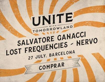 Lost Frequencies y NERVO se suman al UNITE with Tomorrowland Barcelona 2019
