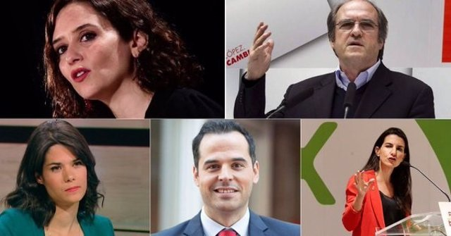 26M.- Telemadrid celebrará debate el 19 de mayo con todos los candidatos a la Comunidad menos Errejón
