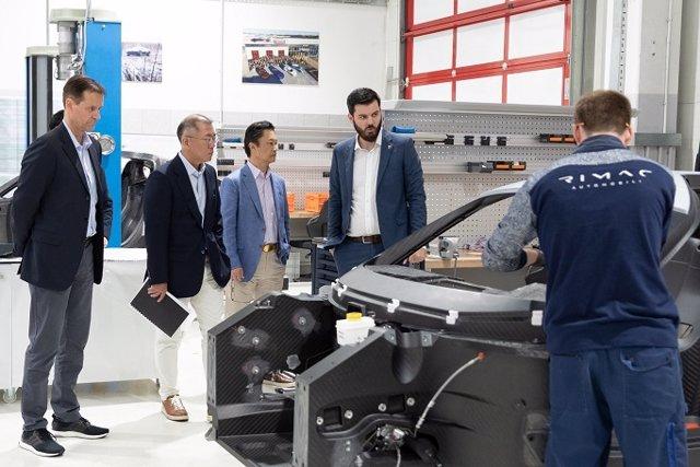 Economía/Motor.- Hyundai y Kia invierten 80 millones en Rimac para el desarrollo de vehículos electrificados