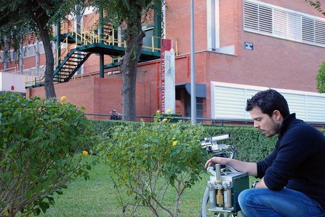 Medición de CO2 de la Universidad de Sevilla