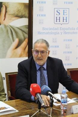Juan Luis Steegmann, presidente del Grupo Español de Leucemia Mieloide Crónica