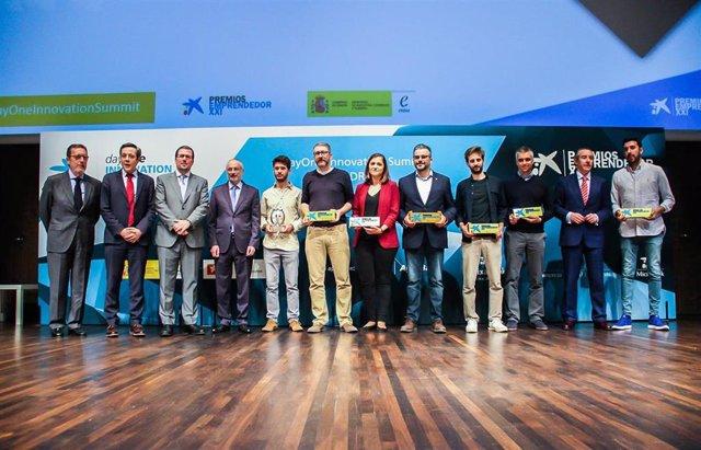 Los premios EmprendedorXXI reconocen a Seacliq, GlyCardial, Huub, Predictiva, Tracer y Feltwood