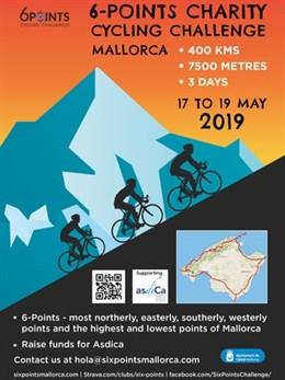 Mallorca acull aquest cap de setmana el '6 Points Cycling Challenge', una ruta ciclista de 400 quilòmetres