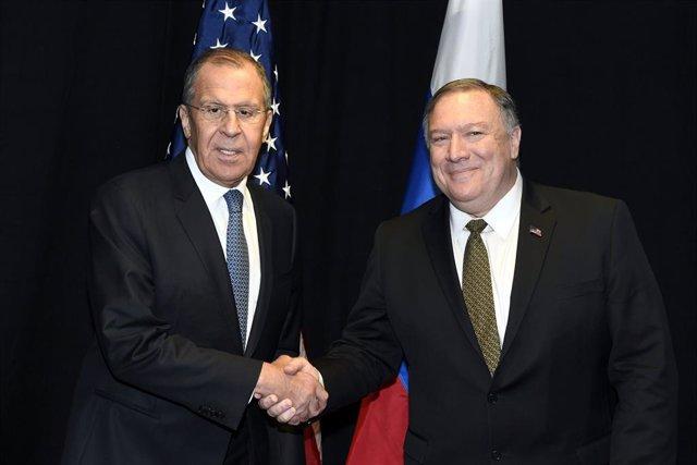 """AMP.-Venezuela.-Lavrov advierte tras ver a Pompeo que una intervención militar de EEUU en Venezuela sería """"catastrófica"""""""