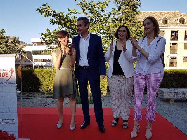 """26M.- Zapatero Se Muestra En Puertollano """"Orgulloso"""" De Que Vox Quiera """"Derogar"""" Su Ley De Igualdad De 2007"""