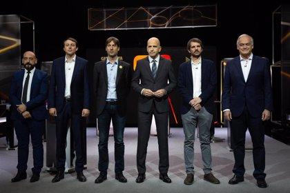 Los reproches entre partidos sobre el proceso soberanista centran el debate europeo de TV3