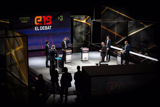 Debat de les eleccions europees en Tv3  i Catalunya Ràdio