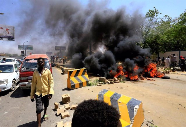 Sudán.- Un militar muerto y al menos diez manifestantes heridos en enfrentamientos en Sudán