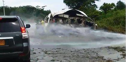 Al menos dos muertos y siete heridos en una emboscada a una comisión judicial en el norte de Colombia