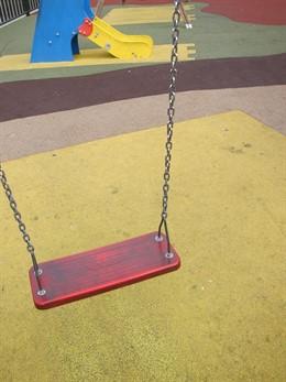 Parque infantil, juegos, niños, infancia