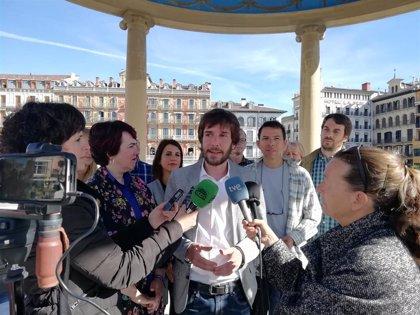 """Buil dice que """"solo si hay un Podemos fuerte en Navarra se podrá seguir garantizando un cambio y un avance social"""""""