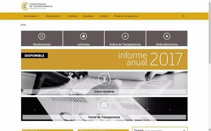 Ochenta y cinco entidades públicas canarias presentan su declaración de transparencia